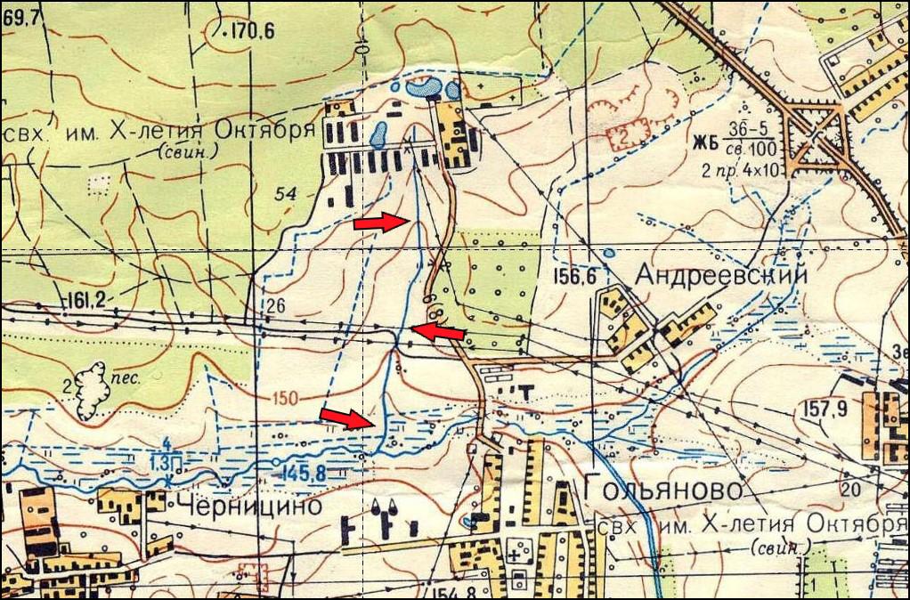 Гольяново-Сосенский ручей